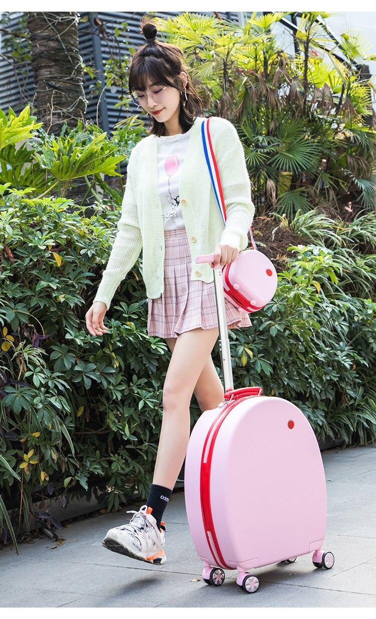 Womens rolando bagagem definir moda luxo elegante
