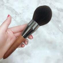 BBL Pro High end makyaj Kabuki pudra fırçası, uygulama gevşek/kompakt tozları, yumuşak ve kabarık yüz makyaj fırça karıştırma allık