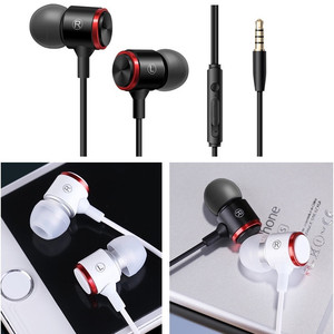 Image 3 - E3 wired earphone For Stereo Earphone Phone Earphones Bass mm 3.5 in ear Computer Wired Headphones With Phone Metal Microphone
