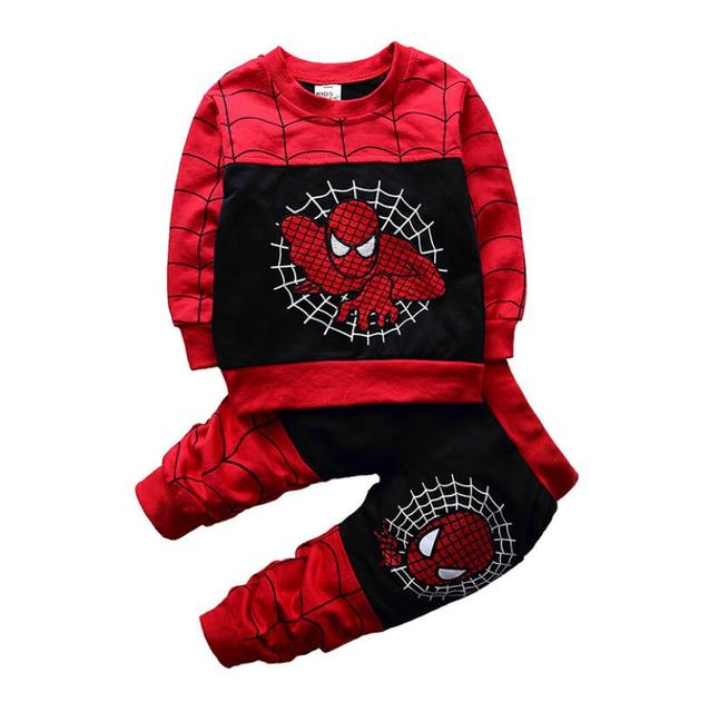 Baby Spiderman Clothing Sets -Costumes Kids Clothes 3pcs  4