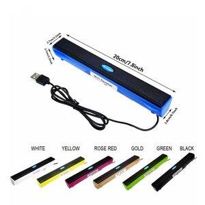 3D объемная звуковая панель, USB-динамик, музыкальный плеер, усилитель, громкий динамик, стерео звуковая коробка для компьютера, настольного П...