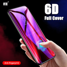 6D Tempered Glass For Xiaomi Redmi Note 8 7 6 Pro Full Cover Curved Screen Protector Film on the for Redmi Note 7A 7S Glass(China)
