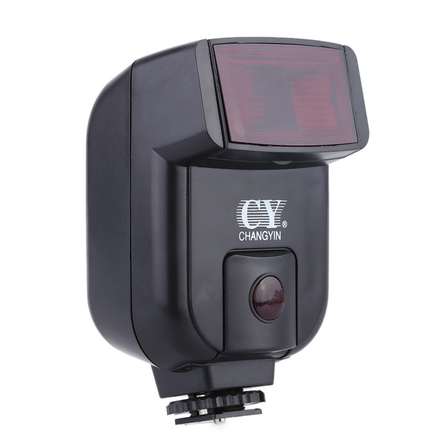 Speedlite Mini cámara Universal con gatillo infrarrojo para Canon, Nikon, Olympus, Sony, Fuji, EOS, M50, A7III, A6500, NEX 7, GH4, X T20
