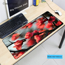 Congsipad Flower Tree Mouse Pad Large Pad for Speed Laptop Mouse Notboo