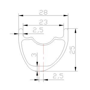 Image 2 - 1260g 650B MTB XC 28mm asymmetric tubeless carbon GRAVEL wheels 25mm Novatec D791SB D792SB 12X100 15X100 12X142 11s XD XDR 12s