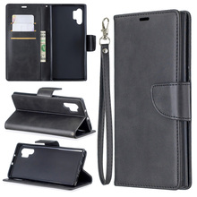 TPU Leather Case on For Samsung Note 10 Pro 9 Wallet Cover FOR Galaxy Plus 8 Cases Vintage Flip Book Mobile