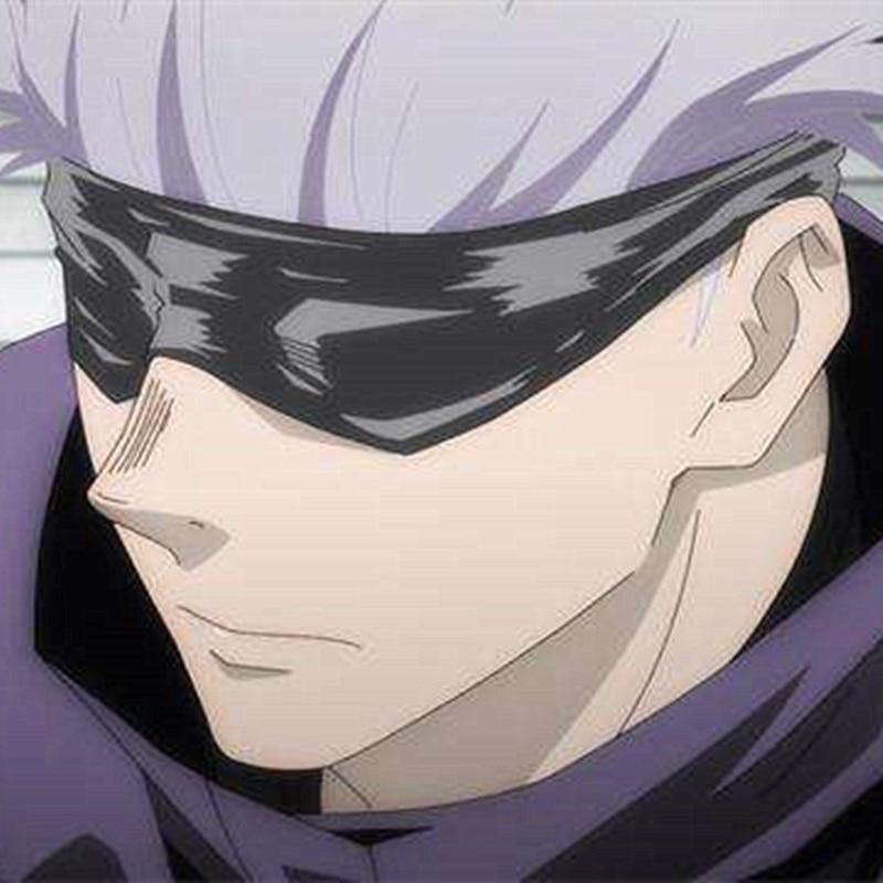 Jujutsu Kaisen Gojo Satoru Cosplay Eye Patch Blindfold Goggles Halloween Carnival Cosplay Costume Accessories Anime Costumes Aliexpress