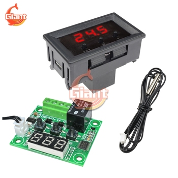 DC12V W1209 LED Digital Thermostat Thermo Regulator for Incubator Temperature Controller Temperature Meter Tester Module Board image
