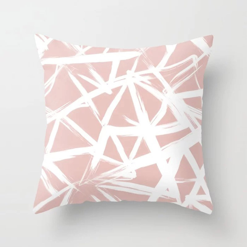 H39c3bce1478e434fa4c973fd20f0b44bO New 1PC Popular Cushion Case Geometric Tropic Pineapple Nordic Sofa Pink Pillow Decorative