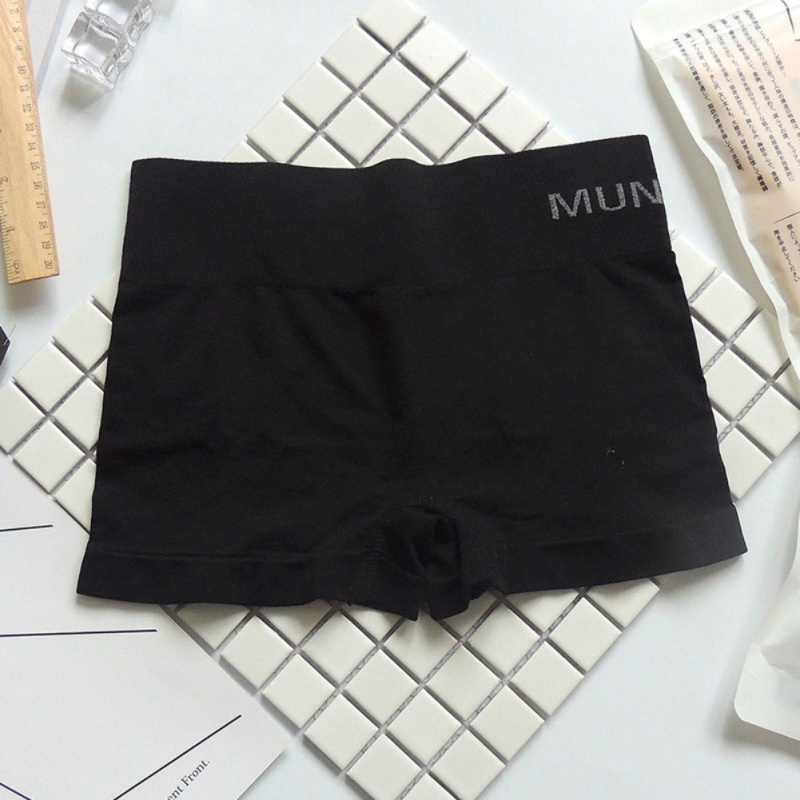 H39c40b05299244e0be92dc6fe4e9a9ddF - Safety Pants For Women Seamless Body Shaping Casual Short Ladies Boxer Briefs Boyshorts Underwear Cotton Female Panties