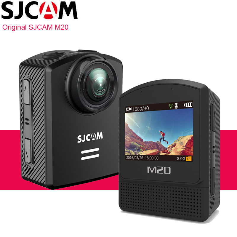 Original SJCAM M20 Action Camera 4K Wifi Gyro Mini Camcorder 2160P HD 16MP 30m Underwater Waterproof