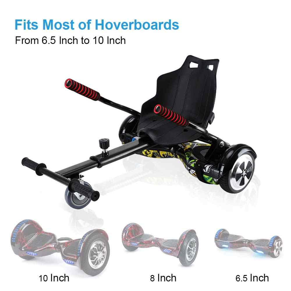 Hoverkart HoverCart chico Hover Kart GoKart auto equilibrio Hoverboard ajustable 6,5/8/10""