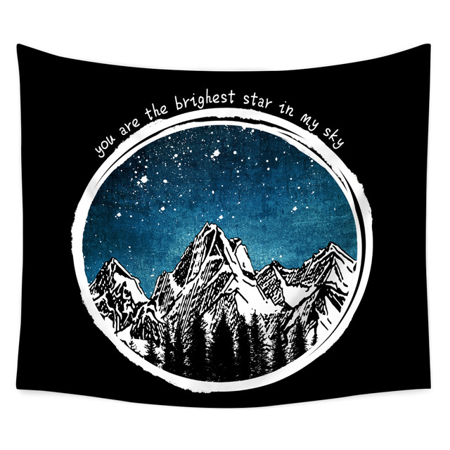 Landscape Printed Wall Tapestry 5