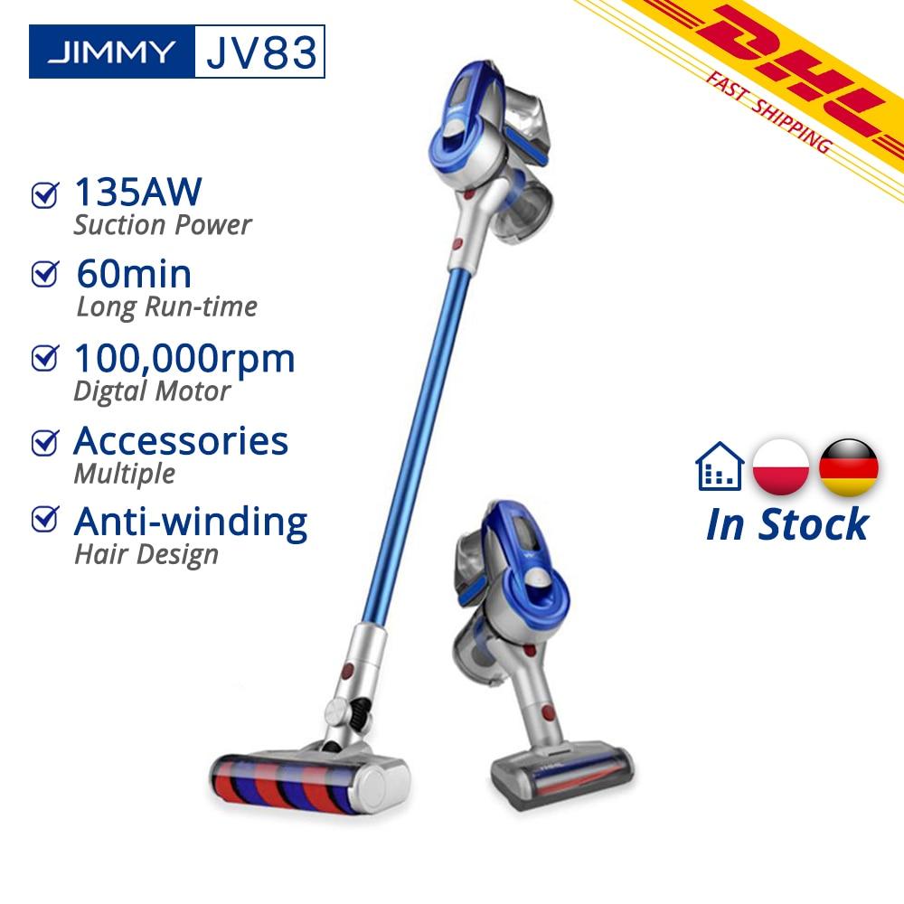 [Free Duty]Xiaomi JIMMY JV83 Vacuum Cleaner JV83 Wireless Handheld Cordless Stick Vacuum Cleaner 20kPa VS JIMMY JV51