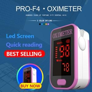 Image 1 - PR+MISE F4 cutepink Finger Pulse Oximeter,Heart Beat At 1 Min Heart Rate Blood Oxygen SPO2 CE Approval
