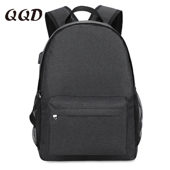 QQD travel backpack for women bookbag men vintage teenage backpacks school bags business waterproof backpack high quality new