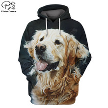 Golden Retriever 3d Printed Unisex hoodies hip hop Fashion Hooded Sweatshirt zip hoodies men for women drop shipping