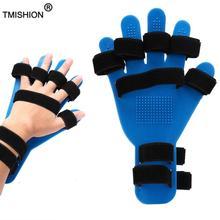 Mão pulso dedo orthotics fingerboard curso hemiplegia mão splint treinamento suporte dedo placa corrector