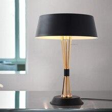 Настольные лампы для спальни роскошный постмодерн светодиодный настольная лампа прикроватная гостиная домашний декоративный стол лампа осветительная арматура