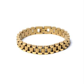 Statement AMBUSH Street Hip Hop  Titanium Steel Watch Bracelet Cool Casual Men's Tide Fashion Bangle Jewelry For Party Gifts