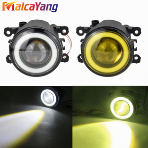 Image 2 - 2 pcs/pair (שמאל + ימין) מלאך עיניים רכב סטיילינג ערפל מנורות LED אורות עבור פיג ו 207 SW ן WK _ 2007 2009 2010 2011 2012