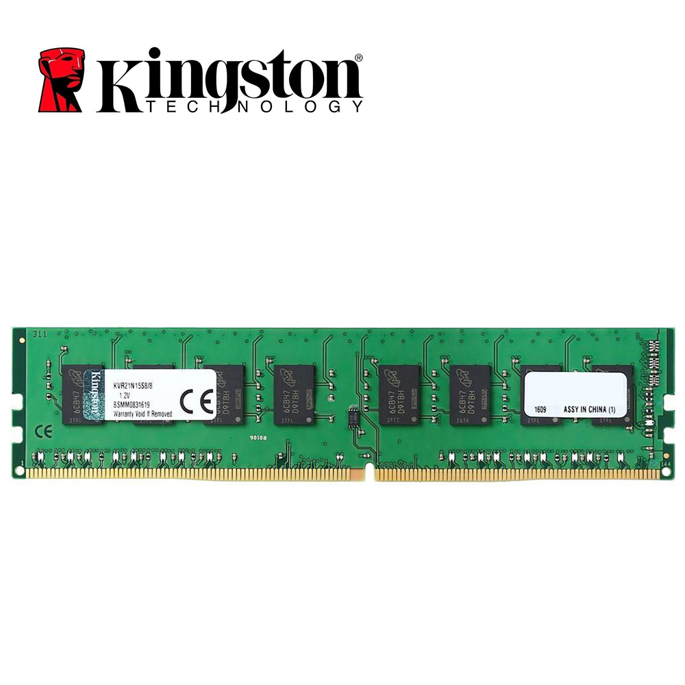 Kingston 8GB DDR4 2133Mhz  CL15 288pin 1.2V  PC4 8 Gb 2133mhz  Desktop Memory DIMM RAM