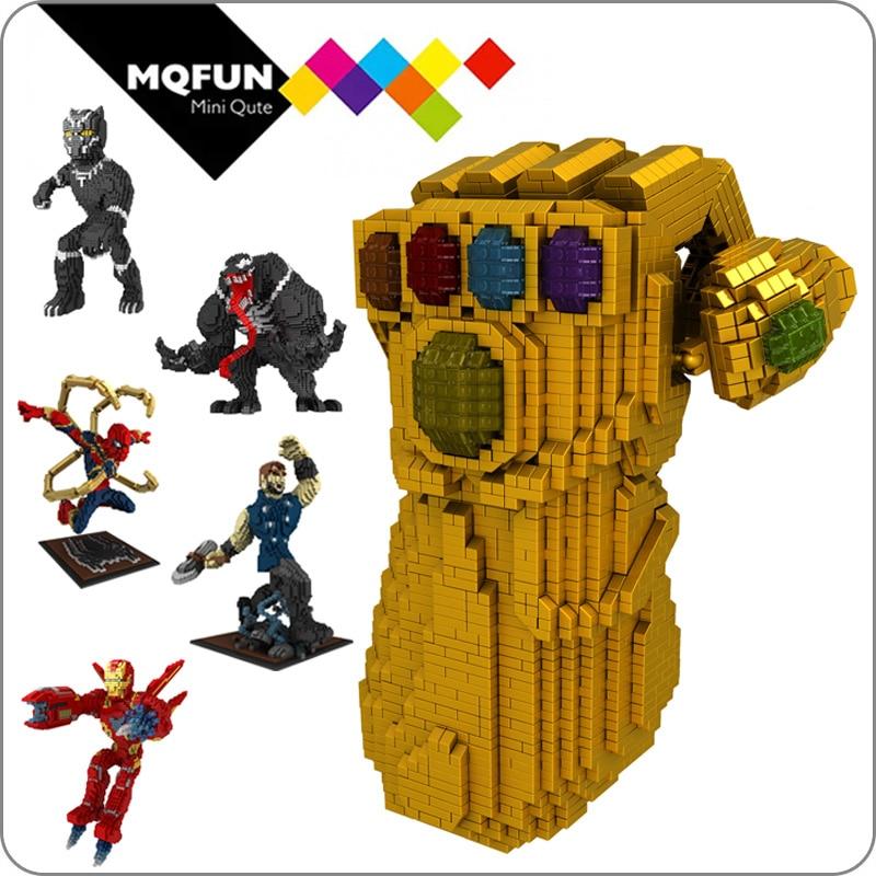 R2D2 Wise-hawk Nano Block Lego Marvel Super Heroes Spiderman,deadpool,superman