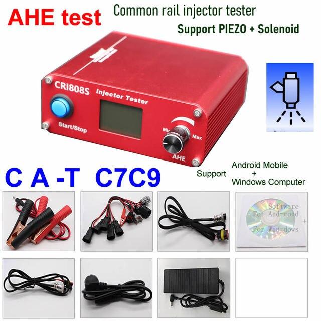 Multifunction Diesel common rail injector tester piezo bluetooth injector tools CRI808 CRI808S AHE update CRI100 cri800