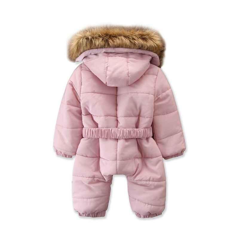 Pudcoco รัสเซียฤดูหนาว Snowsuit 2019 เด็กเสื้อเป็ดกลางแจ้งทารกเสื้อผ้าปีนเขา Jumpsuit เด็ก 6M -3T