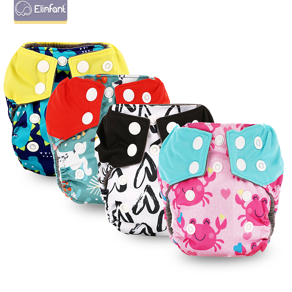 Elinfant Newborn Baby Cloth Diaper Washable Eco-friendly Cloth Nappy Free Shipping