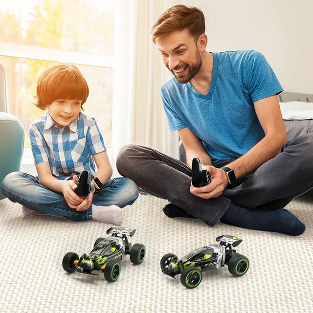 Sinovan RC Car 20km/h High Speed Car Radio Controled Machine 1:18 Remote Control Car Toys For Children Kids Gifts RC Drift 6