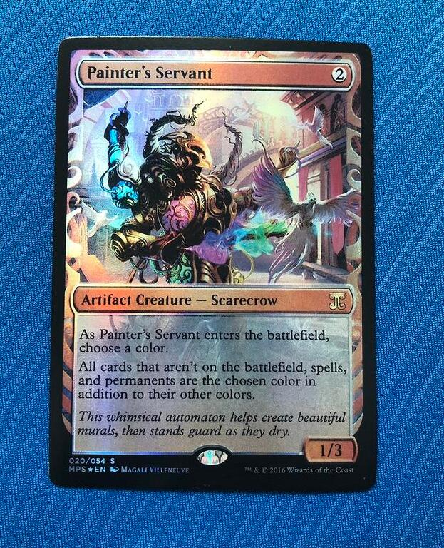 Painter's Servant Kaladesh Inventions Foil Magician ProxyKing 8.0 VIP The Proxy Cards To Gathering Every Single Mg Card.