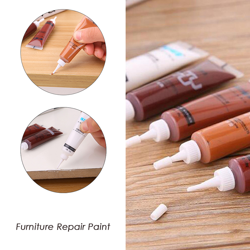 1Pcs Solid Wood Furniture Refinishing Paint Floor Color Paste Repair Pen Wood Floor Filling Paint Decorative Seal Glue Paint