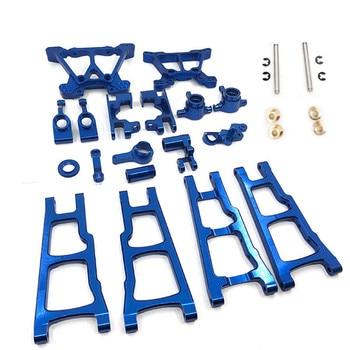  Metal Aluminum Upgrade parts Kit fit For TRAXXAS SLASH 4x4 1/10 RC Car Truck