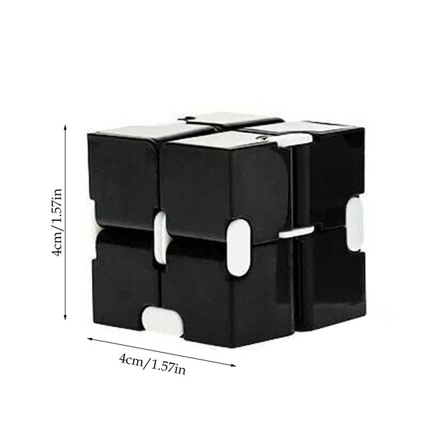 New Magic Cube Puzzle Cube Durable Exquisite Decompression Anti-stress Professional Educational Toys For Children Adults 2