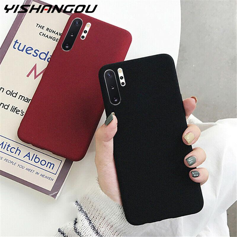 Case For Samsung Galaxy S20 FE S8 S9 Plus S10 5G S10e S20 Note 20 Ultra 8 9 10 Plus Sandstone Matte Silicone Soft Cover Fundas|Fitted Cases| - AliExpress