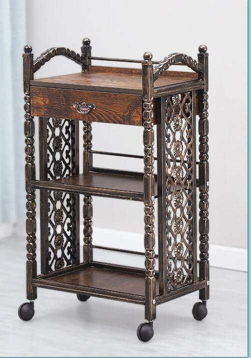 Vintage Beauty Salons Trolleys European Hair Salons Tattoo Salons With Drawers On The Third Floor Of The Cabinet Rack