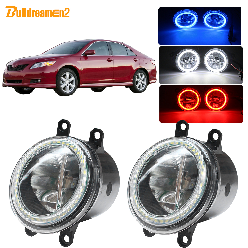 One Pair Car Front Fog Lights12V Car Fog Lamp Fit For Mazda 3 2007-2009 Bright