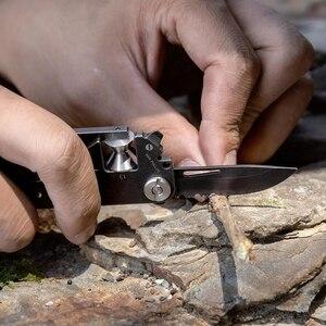 Image 5 - Xiaomi PockeTool Herramienta de supervivencia para caza al aire libre, dispositivo portátil herramienta multiuso de bolsillo, sierra de cuchillo plegable
