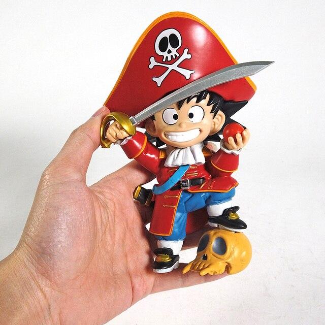 Dragon Ball Z Son Goku Pirate King Childhood Ver. PVC Figure Dragonball Model Toy