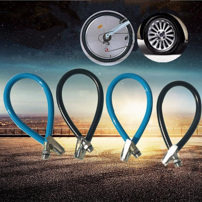 Durable Bicycle Pump Nozzle Pumping Parts Head Valve Converter Hose Adapter