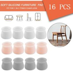 Silicone Furniture Chair Legs Caps Covers for Home Furniture Leg Protection Cover 16, Pink Table Feet Pad Floor Protector