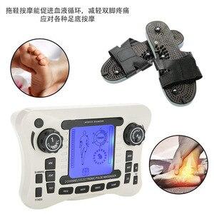 Image 4 - 液晶画面デュアルチャンネル出力 tens ems 疼痛緩和電気神経筋肉刺激装置デジタル療法マッサージ理学療法