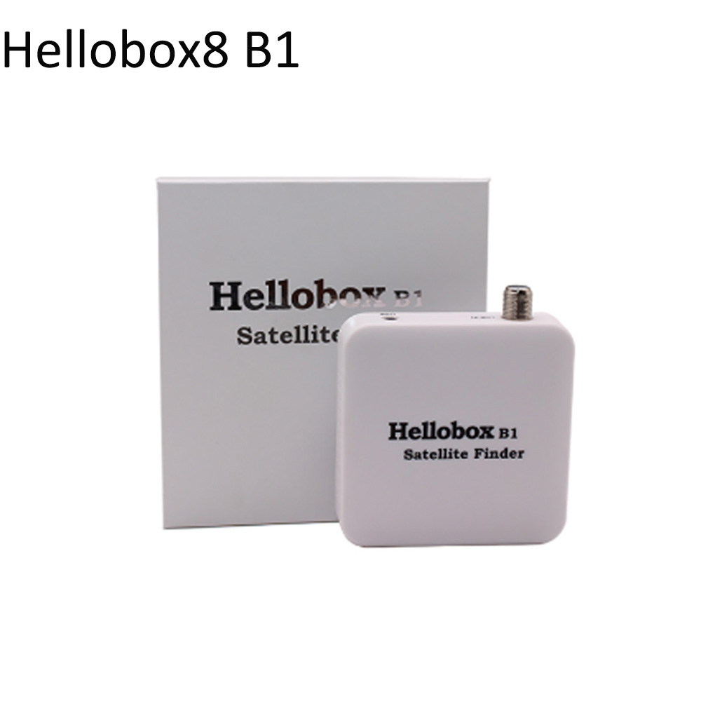 Hellobox B1 Smart Satellite Finder Support DVB Finder APP On Android Phone TP Search And TP Recording Bluetooth Satellite Finder