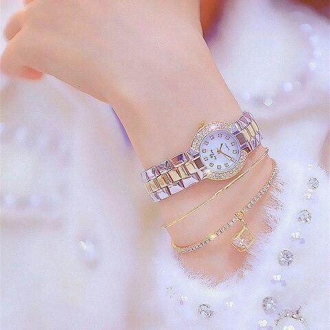Top Brand Women Small Dial Wristwatch Ladies Diamond Quartz Watch Crystal Female Wristwatch zegarek horloges vrouwen Gift Pakistan