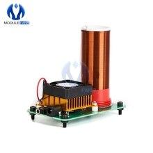 Music Musical Coil Loud Speaker Tesla Power Magic Mini Wireless Board Toy JX03 Module Under 20V Heat Sink Fan DIY Kit