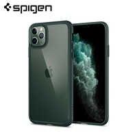 Spigen Ultra Hybrid Hard Clear Back Panel Soft Bumper Hybrid MIL-STD Drop Resistance Case for iPhone 11 Pro Max / 11 Pro / 11