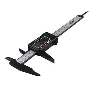 Image 5 - חם הדיגיטלי LCD מיקרומטר Vernier Caliper 150mm/6 אינץ אלקטרוני Vernier מחוגה רכב תיקון כלי caliper YHQ