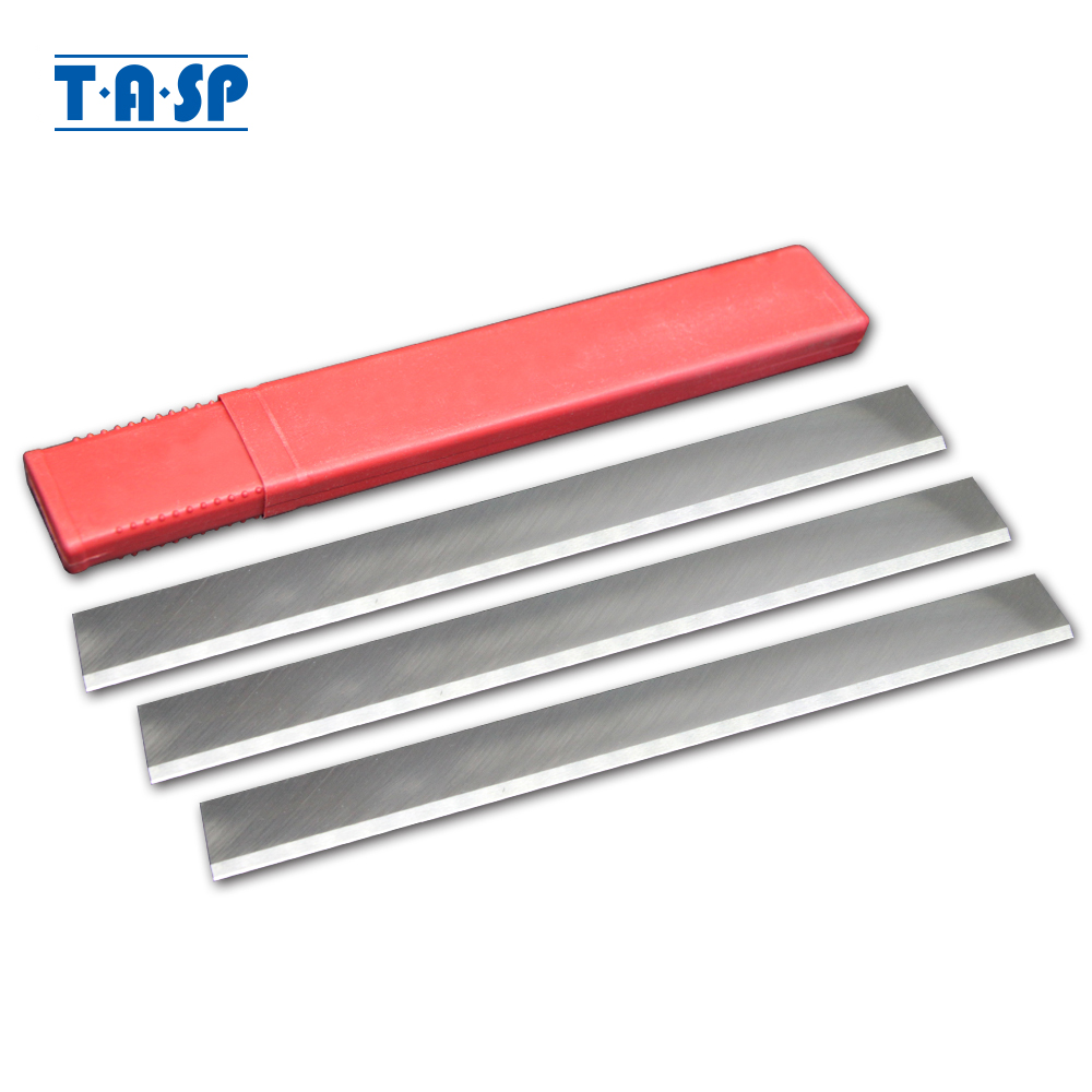 TASP 3pcs 260mm HSS Thicknesser & Planer Blade Jointer Knives 260 x 25 x 3mm Resharpenable for Jet JPT260 JPT-260 Startrite K260