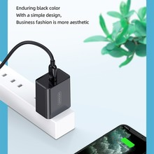 JOYROOM L-P183 Simple Series 18W Intelligent Travel Charger Wall Charger Adapter, EU Plug, UK Plug ,US Plug(China)